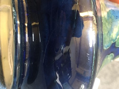 Lot 216 - A Moorcroft 'Moonlit Blue' vase