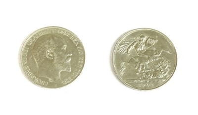 Lot 14-Coins, Great Britain, Edward VII (1901-1910)