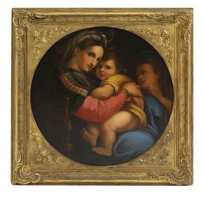 Lot 591 - After Raffaello Sanzio da Urbino, known as Raphael (Italian, 1483-1520)