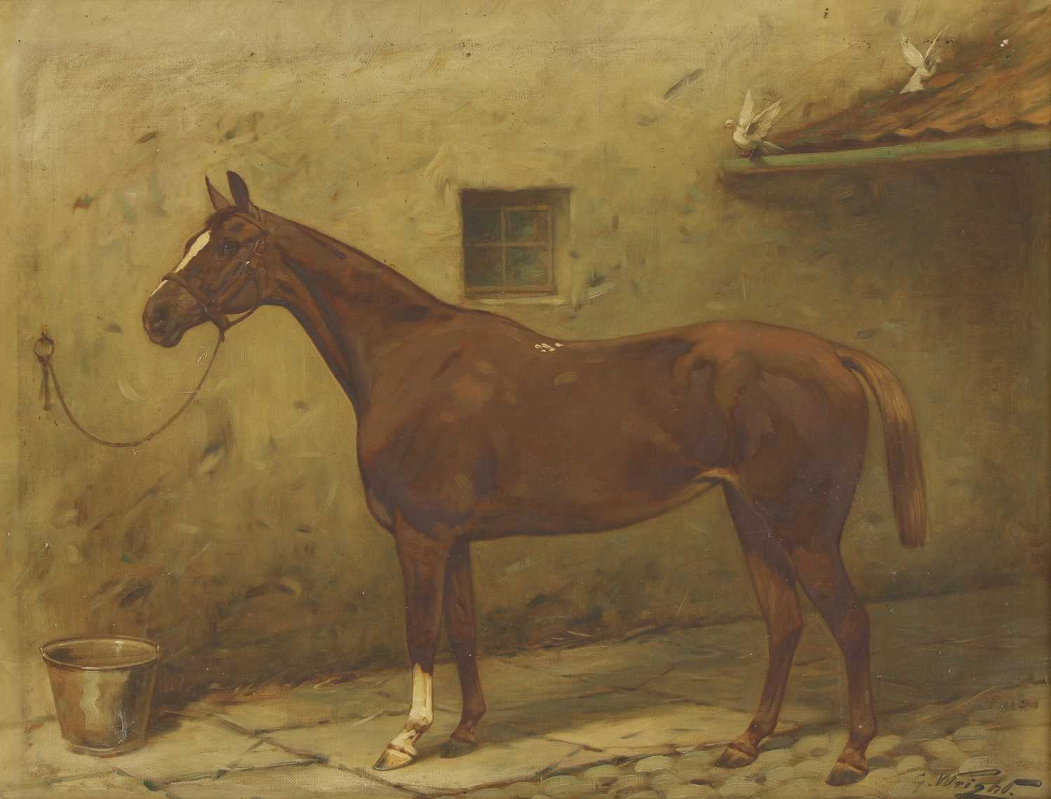Lot 24-George Wright (1860-1942)