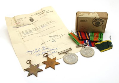 Lot 10 - A collection of Second World War medals