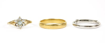 Lot 93 - A 22ct gold wedding ring, by Charles Green & Sons