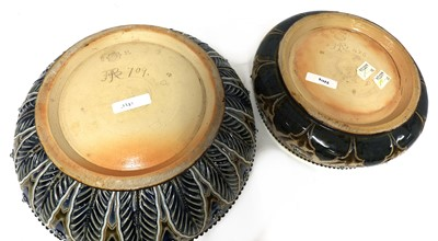 Lot 8 - A Royal Doulton stoneware fruit bowl