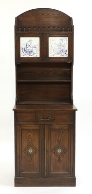 Lot 28 - An Heal's & Son stained ash hall cabinet