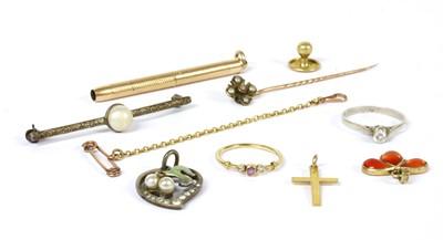 Lot 29 - A quantity of jewellery