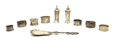 Lot 10-An Edwardian silver serving spoon