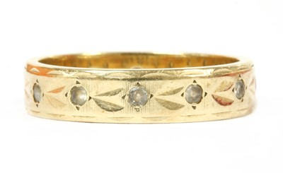 Lot 98 - A 9ct gold paste ring