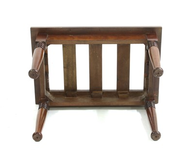 Lot 18 - An Arts and Crafts luggage rack