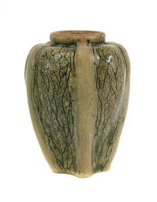 Lot 23-A Martin Brothers' stoneware gourd vase