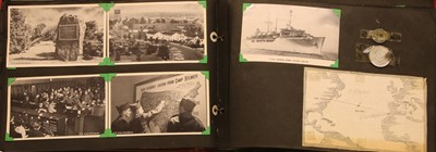 Lot 24-A Military photograph US 350th Infantry photograph album