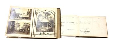 Lot 106 - A quantity of country house photograph albums