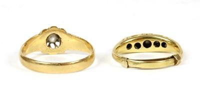 Lot 3 - An 18ct gold single stone diamond ring