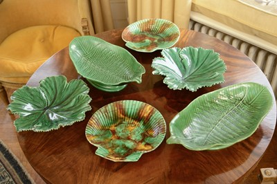 Lot 87 - A matched pair of Wedgwood shell-shaped dishes