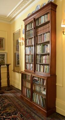 Lot 100 - A Regency mahogany library bookcase