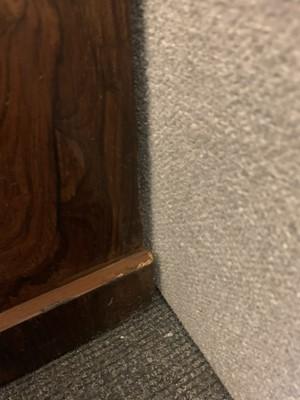 Lot 53 - A rosewood dwarf bookcase