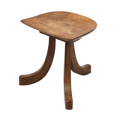 Lot 104 - An Austrian Arts and Crafts stool