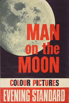 Lot 6-MAN ON THE MOON