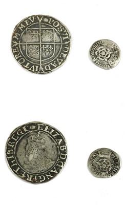 Lot 2-Coins, Great Britain, Elizabeth (1558-1603)