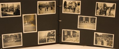 Lot 15-Two 1950s Postwar Air Force photograph albums