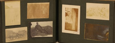 Lot 21 - A London regiment World War One photograph album