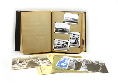 Lot 7 - A large photograph album of American WWI veterans