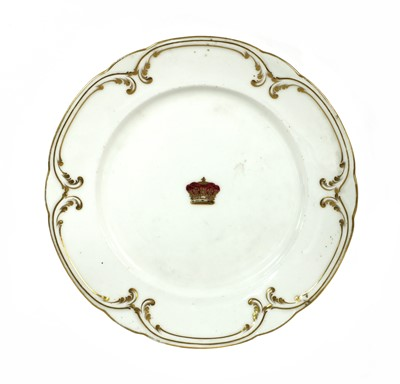 Lot 40-A BUCKINGHAM PALACE DINNER PLATE
