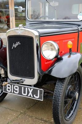 Lot 1 - 1933 Austin Seven Saloon