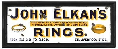 Lot 399 - 'JOHN ELKAN'S RINGS'
