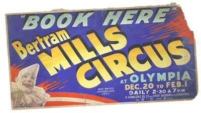 Lot 330 - 'BERTRAM MILLS CIRCUS'