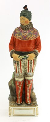 Lot 88 - A rare Royal Copenhagen figure 'Gronland' (Greenland)