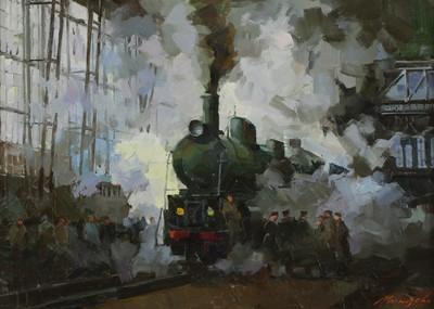 Lot 602 - Sergei Menyayev (Russian, b.1953)