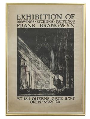 Lot 96 - Sir Frank Brangwyn (1867-1956)