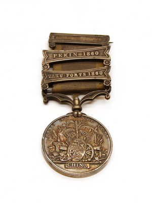 Lot 14-A Second China War medal (1857-1860)