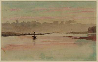 Lot 553 - William Lionel Wyllie RA (1851-1931)