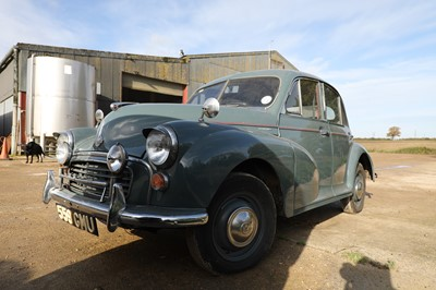 Lot 2 - 1956 Morris Minor Series II 'Split Screen' Four-Door Saloon