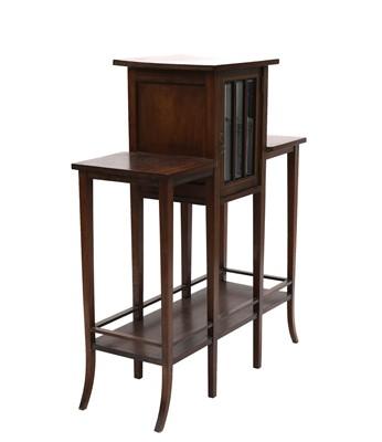 Lot 17 - A mahogany side cabinet