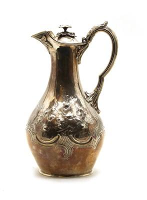 Lot 14 - A Victorian silver jug