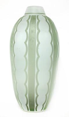 Lot 154 - A Daum cased glass vase