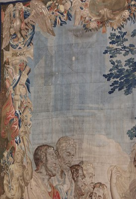 Lot 11 - A large Brussels tapestry