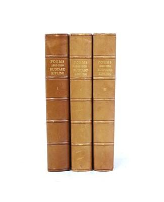 Lot 44 - Rudyard Kipling Poems Signed Limited Edition