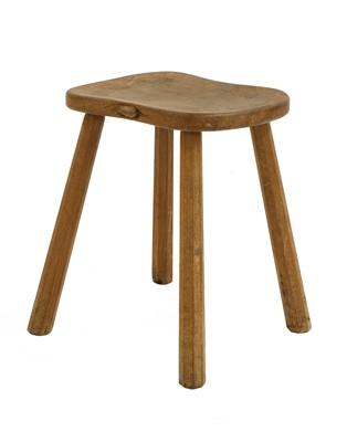 Lot 107 - A Robert 'Mouseman' Thompson stool