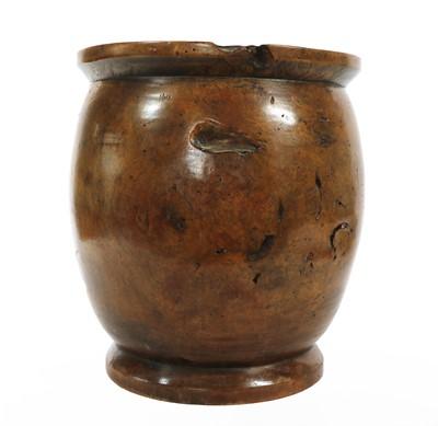 Lot 41 - A turned Treen jar