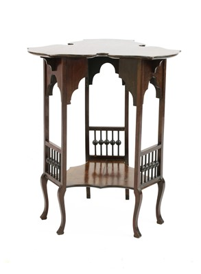 Lot 47 - A mahogany side table