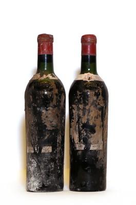 Lot 51 - Chateau LafiteRothscild, 1er Cru Classe, Pauillac, 1945, two bottles