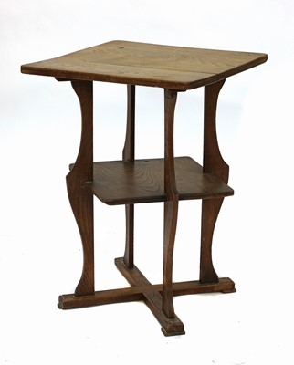 Lot 102 - A Cotswold School elm occasional table