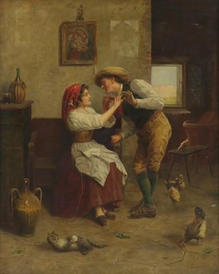 Lot 623 - Antonio Bianchi (Italian, 19th/20th century)