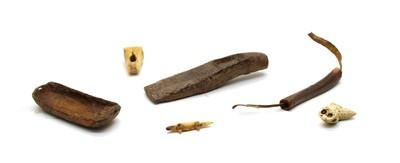 Lot 91 - Six Inuit items
