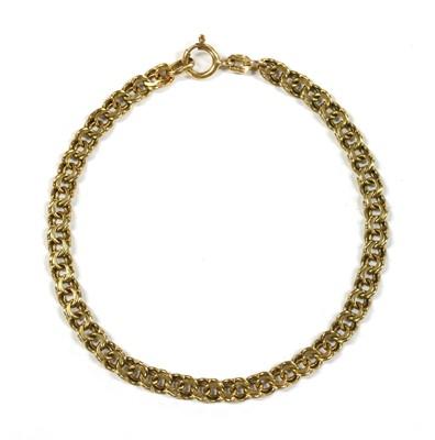 Lot 78 - A 9ct gold bracelet