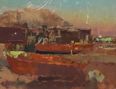 Lot 141 - *Fred Cuming RA (b.1930)