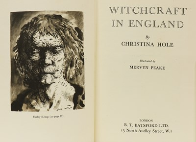 Lot 35 - 1- Hole, Christina; Mervyn Peake (illustrator)